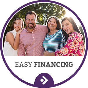 Easy Financing Button at Reynolds Orthodontics in Greensboro NC